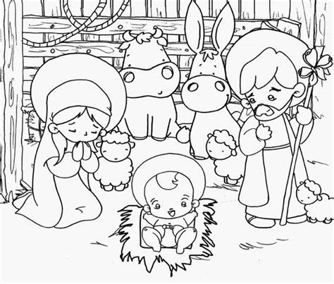 imagenes del nacimiento de jesus para pintar para colorear nacimiento de jes 250 s para colorear