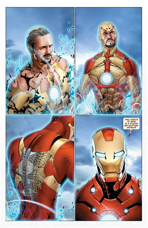 whats iron mans armor avengers