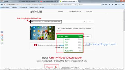 download youtube secara online cara download video dari youtube tanpa aplikasi lengkap