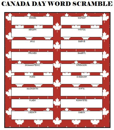 printable quiz about canada 25 best ideas about canada day party on pinterest