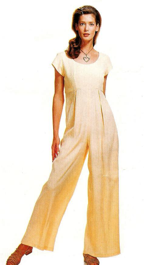 jumpsuit pattern wide leg raise bodice jumpsuit sewing pattern 6 12 high waist wide