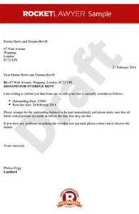rent demand letter create an overdue rent letter