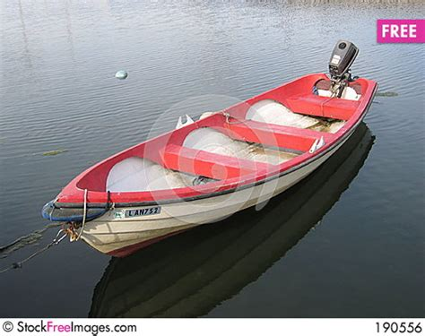 row boat with motor a rowboat with a motor free stock images photos