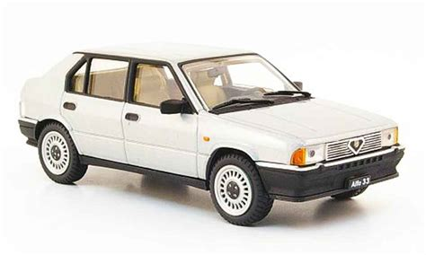 pego car alfa romeo 33 1 3 gray metallized 1983 pego diecast model