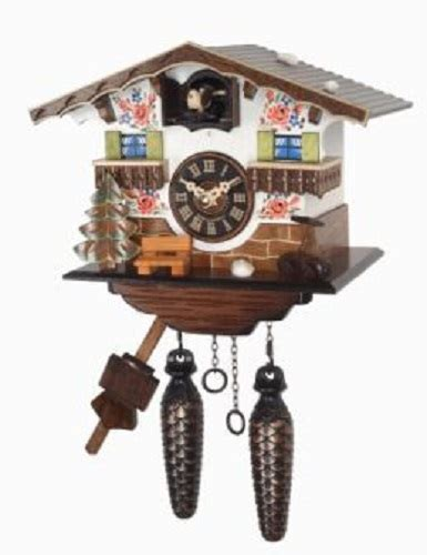 german house music quartz movement hand painted german house wooden cuckoo clock with music ebay