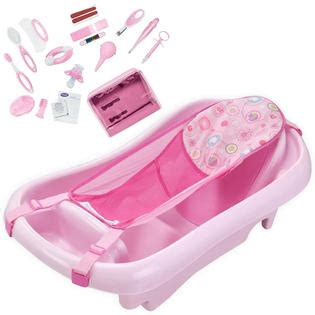 Sugar Baby Deluxe Baby Bather Pink T3009 1 deluxe baby bath tub with sling health kit bundle pink