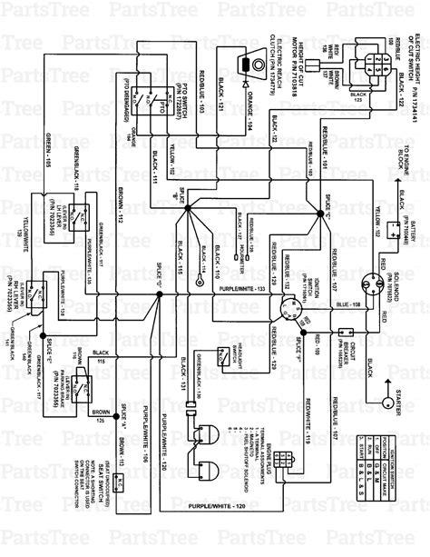 deere lawn tractor wiring schematic deere 345