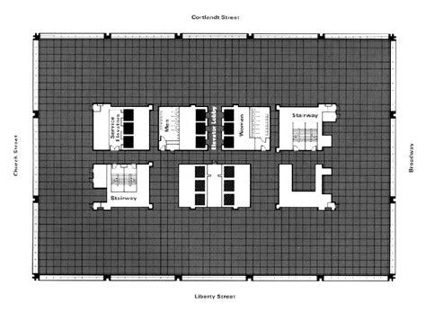 1 World Trade Center Floor Plan - wtc aol sbs information