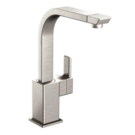 moen 90 degree kitchen faucet s7170srs moen premium 90 degree series single handle single spot resist stainless