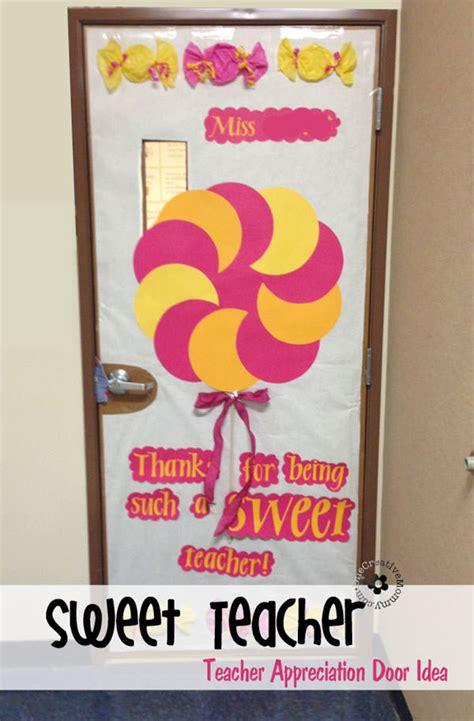 Appreciation Door Decorations appreciation ideas for door decorating onecreativemommy