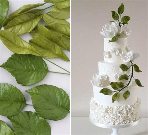Wedding Cake Greenery by 16 Best Greenery Foliage Decorated Wedding Cakes Images