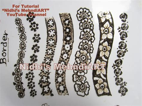 henna design classes wonderful floral back hand strip henna mehndi design
