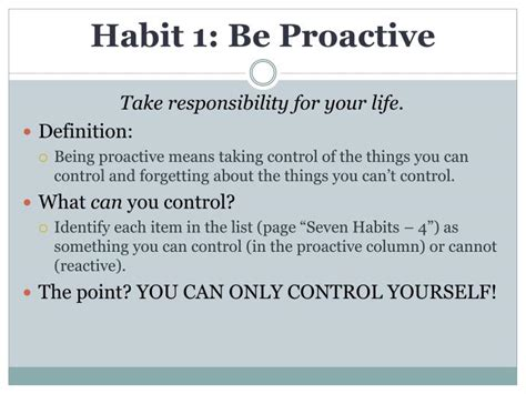 effective biography definition ppt seven habits of highly effective teens by sean covey