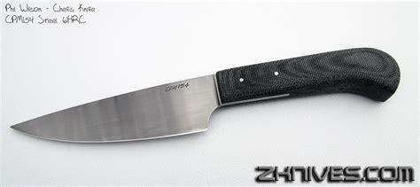 z custom knives phil wilson chef s knife cpm154 steel 61hrc