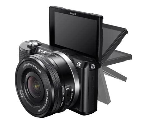 Kamera Sony Cx 5100 sony alpha a5000 lyd billede