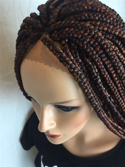 Braided Hairstyles Wigs by Box Braids Braided Lace Front Wig