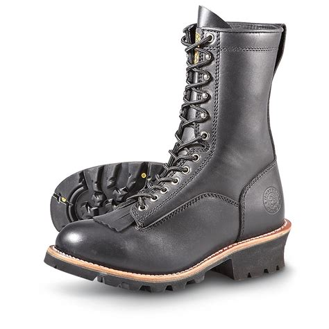 western chief shoes s western chief 174 vibram 174 logger boots black 182241