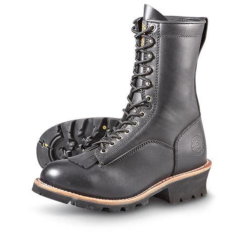 s western chief 174 vibram 174 logger boots black 182241