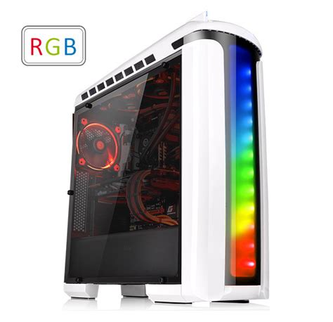 gabinete versa c22 thermaltake global versa c22 rgb snow edition