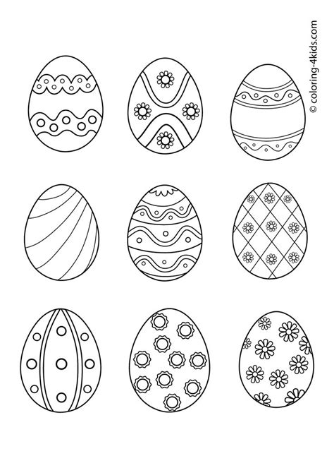 coloring book pages easter eggs 428 best easter printables images on pinterest easter