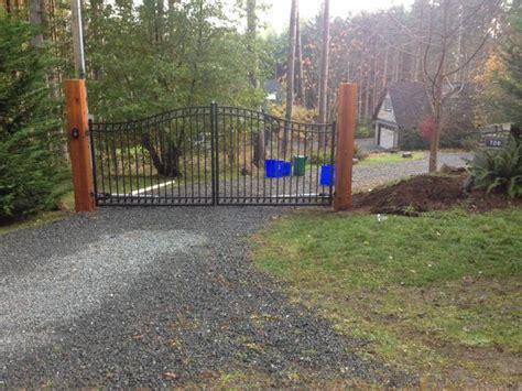 west coast swing saskatoon westcoast custom gates ltd aluminum dual swing gates