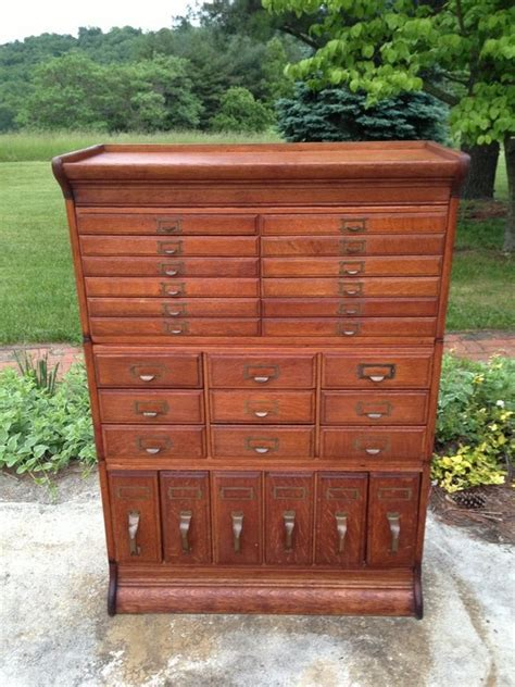 Antique Stacking File Cabinet by Gunn   Posts, Home and