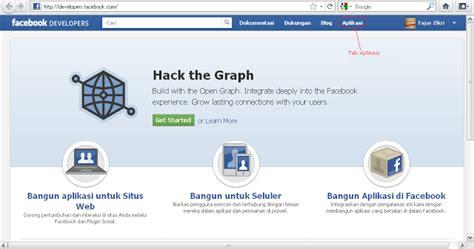 membuat virus facebook cara membuat aplikasi facebook aplikasi fb