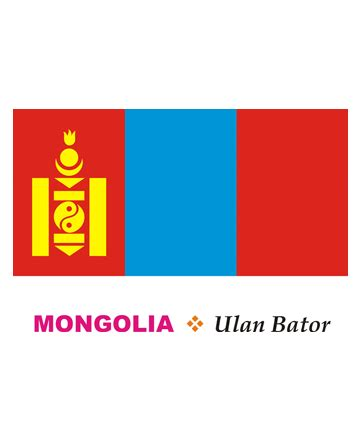 gallery for gt mongolian flag coloring page