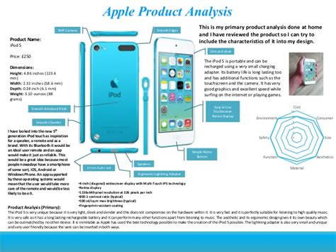 product layout analysis speaker product design