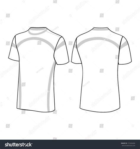 t shirt design template stock vector illustration