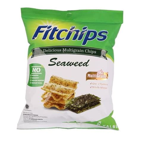 promo fitchips seaweed snack sehat  gr jakarta