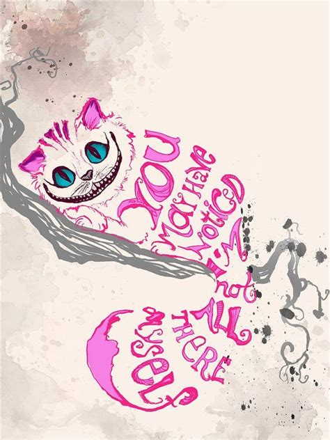 cat tattoo design words phrases cheshire cat in quotes quotesgram