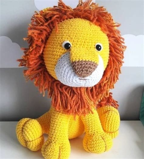 amigurumi lion amigurumi crochet free pattern amigurumi free