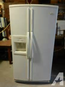 Whirlpools For Sale Whirpool Gold Conquest White Side By Side Refrigerator