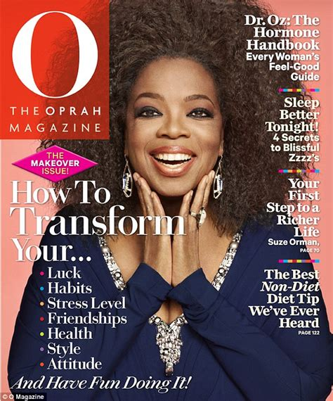 oprah winfrey o magazine oprah goes back to her roots on the cover of o magazine as