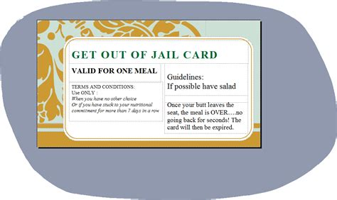 get out of card template fitness for and adventures june 2013