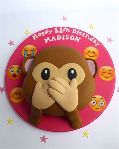 Wedding Cake Emoji by Emoji Monkey Cake S Cakes