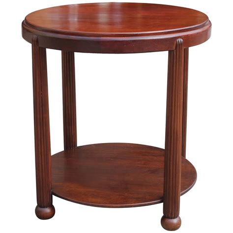 deco side table antique deco side table chairish