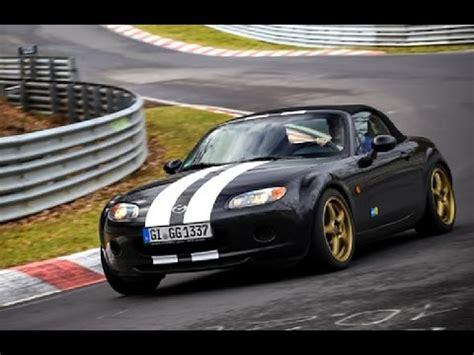 nuerburgring mazda mx nc  btg     youtube