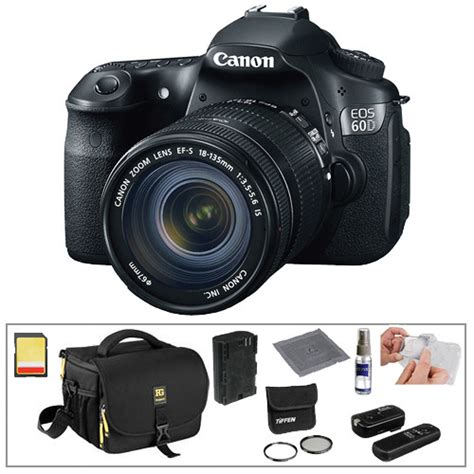 Canon Eos 60d Lensa 18 135mm Canon Eos 60d Digital Slr With 18 135mm Lens Basic