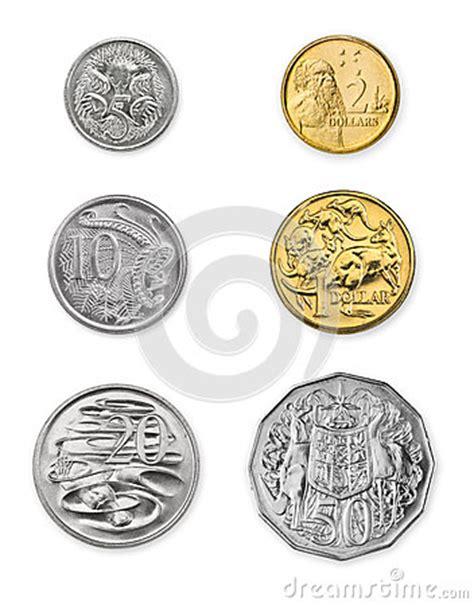 Australian Coins Outline by Monete Australiane Fotografia Stock Libera Da Diritti Immagine 25822327