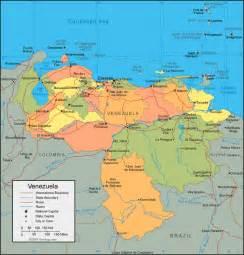 Venezuela On World Map by Venezuela Map World