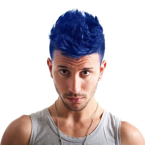 mens hairstyles with dye hair color trends and ideas for men mens craze