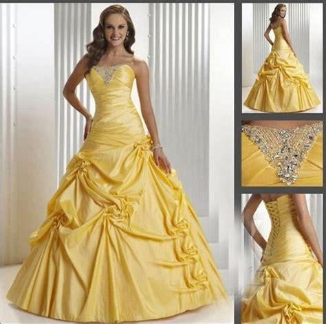 Ds3454 Dress Yellow Murah yellow wedding dress gallery wedding dress decoration and refrence