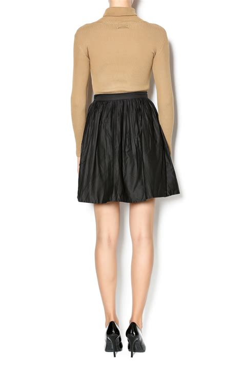 nu new york pleated cotton skirt from union square