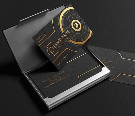 awesome phlet card design templates 50 awesome photography business cards for inspiration 2017
