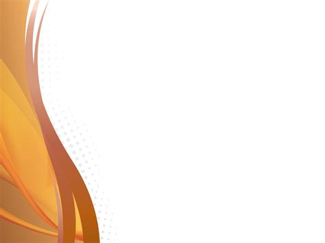 powerpoint design orange orange waves powerpoint templates abstract orange