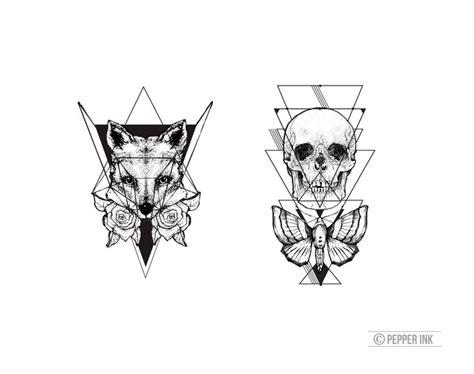 Geometric Tattoo Norwich | best 25 small fox tattoo ideas on pinterest fox tattoos