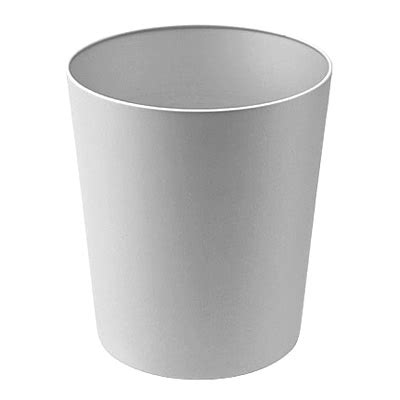 muji trash can aluminium dust box about dia 22cm h25cm muji