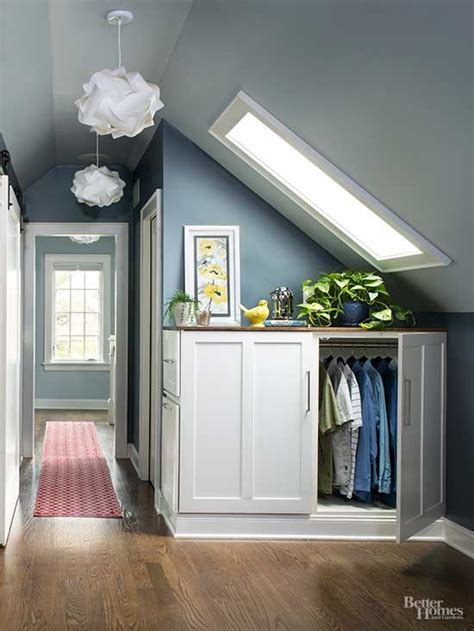 Small Attic Closet Ideas by Best 25 Attic Closet Ideas On Finished Attic Slanted Ceiling Closet And Attic